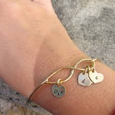 initials bracelet family tree bracelet personalized jewelry for or