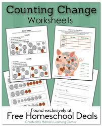 free download counting change worksheets free homeschool deals