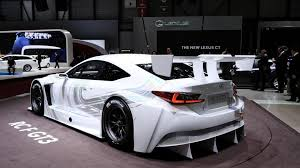 new lexus rcf lexus rc f gt3 concept is ready to race in geneva