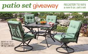 Shopko Outdoor Furniture by Shopko U2013 Win A 5 Piece Charleston Patio Set Sweepstakes Den
