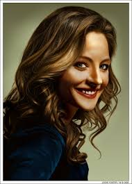 jodie foster by wendelin on deviantart