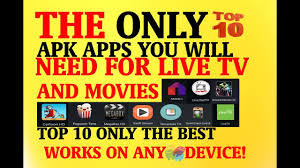 newest apk top 10 new apk apps for live tv 1 0