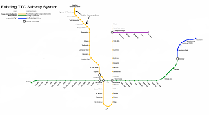Ttc Subway Map by Get Toronto Moving Transportation Plan History Bloor Danforth Subway