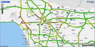 traffic map los angeles freeway traffic map indiana map