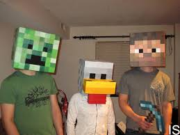 Minecraft Halloween Costume Amazing Minecraft Costumes 10 10 For Originality For The Chicken