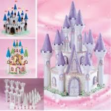 castle cake topper wilton princess fairy tale castle cake set novelty birthday cake