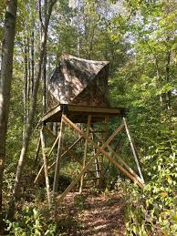 Pop Up Hunting Blinds Ultimate Hunting Stand 3 Steps With Pictures