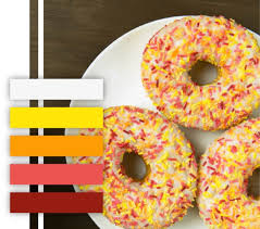 fun color schemes 10 food themed color palettes for your branding inspiration mariah