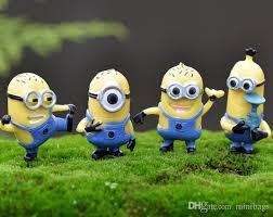 2018 garden miniature character minions 4 defferent