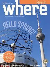 hã ngelen esszimmer where magazin september 2016 by where berlin dinamix media gmbh