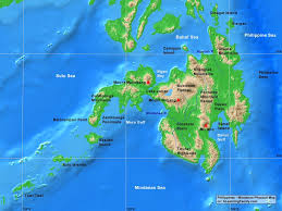 Central America Physical Map by Philippines Mindanao Physical Map A Learning Family