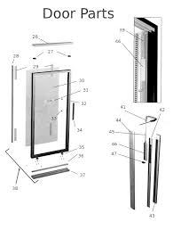 Parts Of An Exterior Door Marvelous Door Parts Name Door Parts Names Lever Door Handle Door