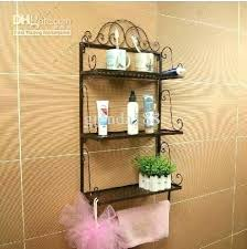 Metal Bathroom Shelves Bathroom Shelves Toilet Simpletask Club