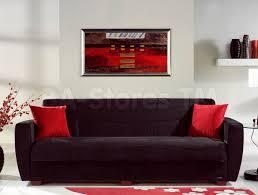 Black Sofa Sleeper 448 95 Power Sofa Bed Rainbow Black Sofa Beds 4