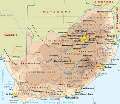 Port Elizabeth South Africa Map by Carte Afrique Du Sud Voyage Pinterest South Africa And Africa