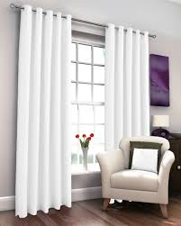 marcela white thermal lined eyelet curtains expand