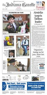 the indiana gazette sunday may 22 2016 by indiana printing