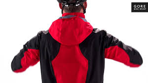 cycling rain jacket with hood alp x 2 0 gore tex active jacket by gore bike wear youtube