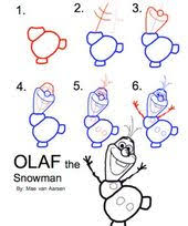 how to draw olaf the snowman frozen disney drawing tattoo love