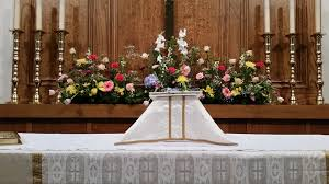Easter Sunday Altar Decorations by Holy Trinity Episcopal Church Dickinson Home