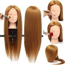 hairstyles to do on manikin 26 inch hairdressing hair training mannequin head model makeup
