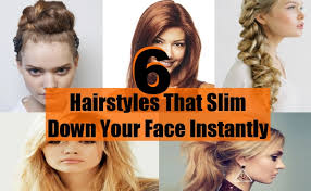 hairstyles that thin your face 6 hairstyles that slim down your face instantly diy life martini