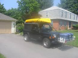 jeep bed plans easy way to cartop a canoe or boat 6 steps