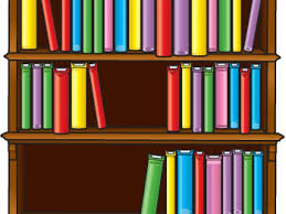 Bookcase With Books Bookshelf With Books Clip Art Library