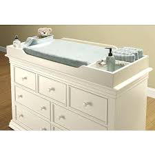 Changing Table Top Creative Baby Dresser 6 Drawer Baby Dresser With Changing Table