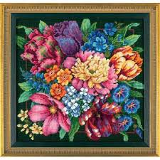 floral splendor by dimensions cross stitch kits patterns