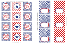 free printable halloween cupcake toppers free 4th of july printables undercover hostess