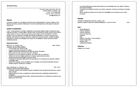 Resume Objective Example For Customer Service by Cool Customer Service Representative Resume With No Experience 69