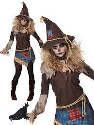 scarecrow costume creepy scarecrow costume fancy dress womens