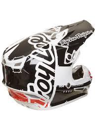 motocross helmet design troy lee designs white 2018 se4 factory polyacrylite mx helmet ebay