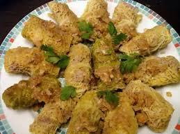 cuisiner choux vert recette de choux farcis minceur
