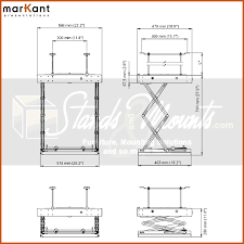 Projector Mount For Drop Ceiling by Markant Motorized Drop Down Hidden Projector Mount For Panel