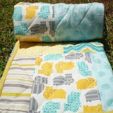 Grey And Yellow Crib Bedding Best Woodland Crib Bedding Products On Wanelo