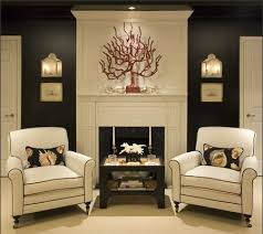 elegant accent wall colors for white painted room eclectic