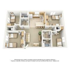 The Villages Floor Plans Village On The Parkway Floor Plan 3d For Web Jpg Longbourn Loft