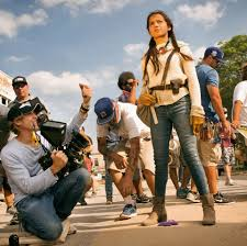 fans get first glimpse of new transformers leading lady as isabela