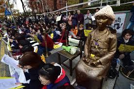 Comfort Women Japan South Korea Japan Seek To Lower Tensions Over U0027comfort Women