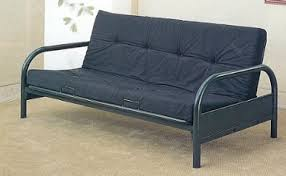 futon metal sofa bed basic metal futon frame