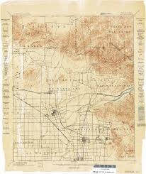 California Arizona Map by