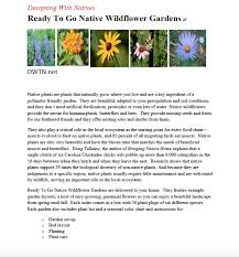 garden brochure radnor conservancy
