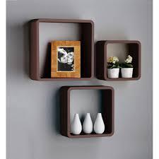 oak floating u0026 cube shelves wall display fittex bil google