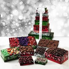 gift towers magnificent gift tower gourmet gift assortment from