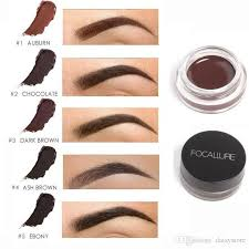 henna eye makeup focallure professional eye brow tint makeup tool kit waterproof