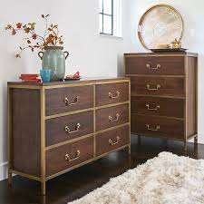 Dressers Chests And Bedroom Armoires Cooper Pecan Brown Dresser Chest Bedroom Set Pier 1 Imports