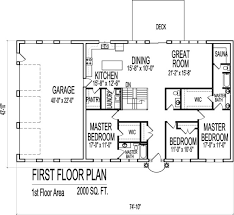 1 level house plans 2000 sq ft house plans one amazing house plans