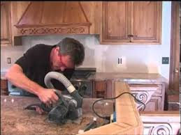 How To Install Kitchen Countertops How To Install Granite Slab Countertops Youtube